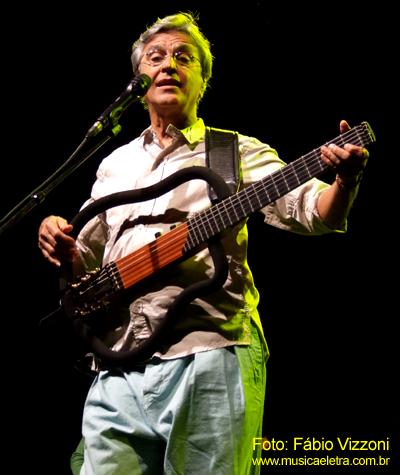 Caetano Veloso (2009) - Foto: Fábio Vizzoni - Blog Música e Lerta