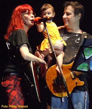 Rita Lee, Izabella Lee e Roberto de Carvalho - Foto: Fábio Vizzoni - Site Música & Letra
