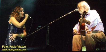 Maria Rita e Oscar Castro Neves