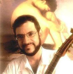 Renato Russo em 1995, no lançamento do CD Equilibrio Distante (foto: reprodução)