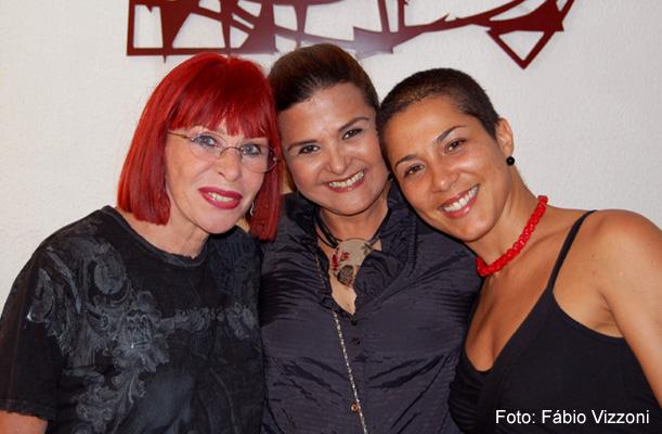 Rita Lee, Elizângela e Marcelle Sampaio