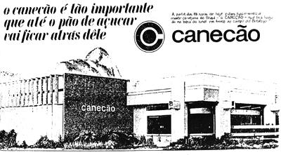Anúncio da estreia do Canecão em 1967