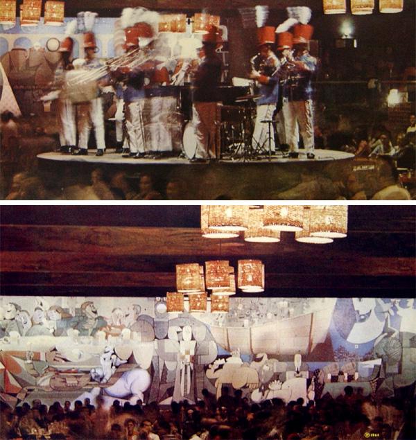 A Banda do Canecão em 1968, ainda nos tempos de cervejaria
